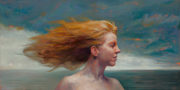 Woman In Wind